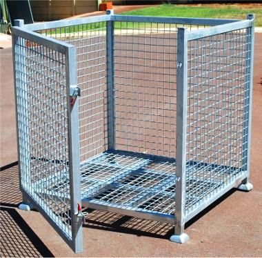 Full cage - solid galvanised